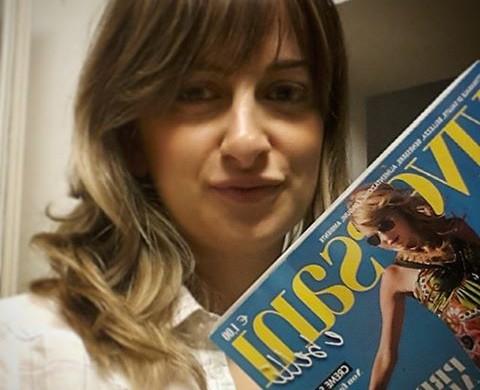 Per tutta la prima settimana di agosto 2014 vi aspetto in edicola a pag. 71 della rivista Viversani&belli