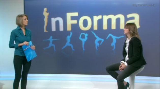 Intervista per Sky Sport con Eleonora Cottarelli