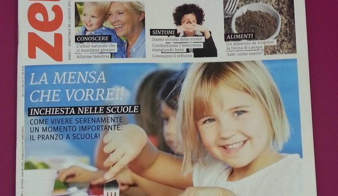 """Intervista sul bimestrale """" Zero intolleranze """" – settembre/ottobre 2015"""