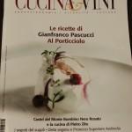 """Intervista per il bimestrale """" CUCINA&VINI """" sulla dieta vegana"""