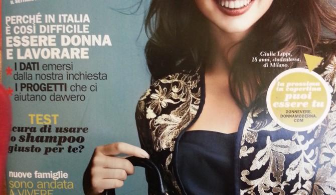 "Intervista per "" Donna Moderna "" – novembre 2015"