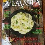 """Intervista sul latte di asina della rivista enogastronomica """" A tavola """" – dicembre 2015"""