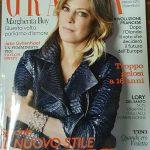 Intervista per Grazia su come ottenere un'abbronzatura dorata e protetta – marzo 2017
