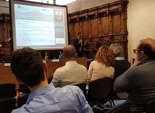 Il mio intervento come relatore al convegno di medicina sportiva – Università degli Studi di Torino