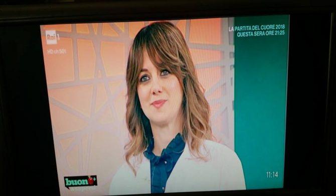 """Partecipazione alla trasmissione di Raiuno """"Buono a sapersi"""" sulle ciliegie – 30-05-2018"""