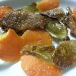 Dolcetti di bucce di kiwi