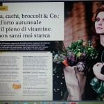 """La mia lunga intervista sulla rivista """" F """" di settembre 2014"""