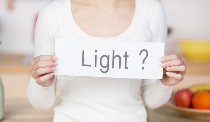 Attenzione a cibi e bevande light