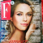 """Intervista sul settimanale """" F """" luglio 2015"""