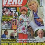 """Intervista sul settimanale """" Vero """" – ottobre 2015"""