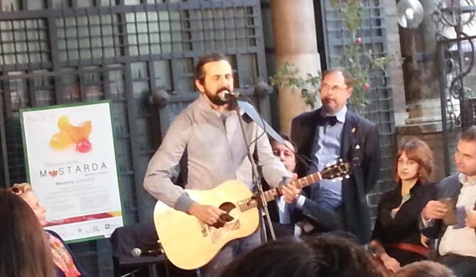 TALK SHOW CON IL GIORNALISTA PAOLO MASSOBRIO – FESTIVAL DELLA MOSTARDA MANTOVA – OTTOBRE 2015