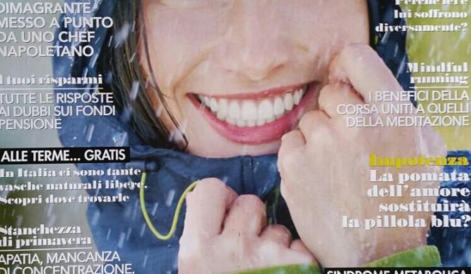 """Sul settimanale """" Viversani&belli """" – aprile 2016"""