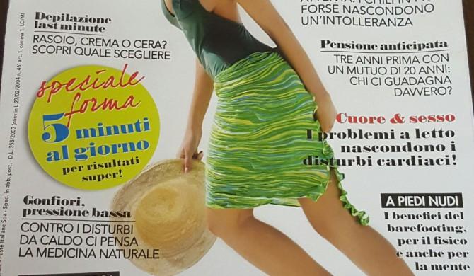 """Sul settimanale """" Viversani&belli """" – luglio 2016"""