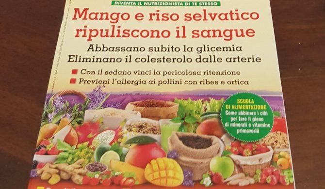 Intervista per il mensile Alimentazione Naturale Riza – aprile 2017
