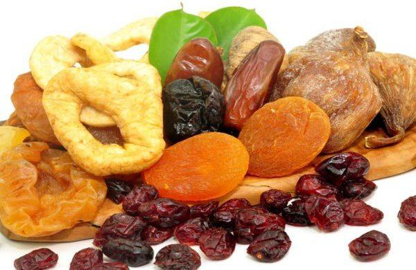 Quanta frutta disidratata si può mangiare al giorno?