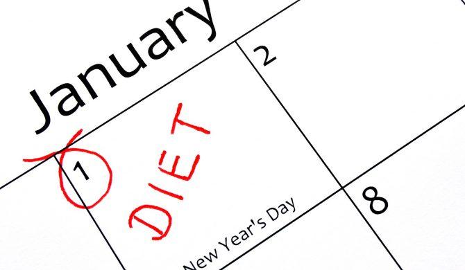 """La dieta dei """"buoni propositi"""" per iniziare l'anno in salute"""