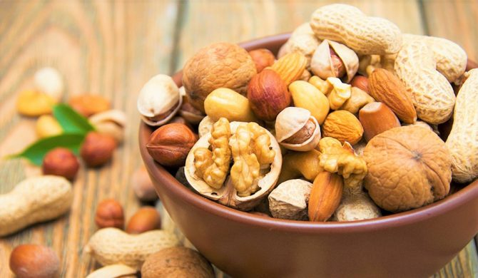 Perchè mangiare noci, mandorle, pistacchi, ecc. fa bene alla salute
