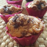 Muffin alla confettura di ciliegia