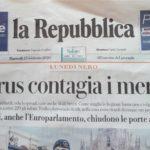 Intervista per La Repubblica Salute – febbraio 2020