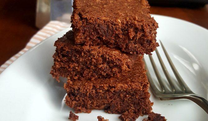 Brownies al cioccolato senza lievito e con un uovo solo