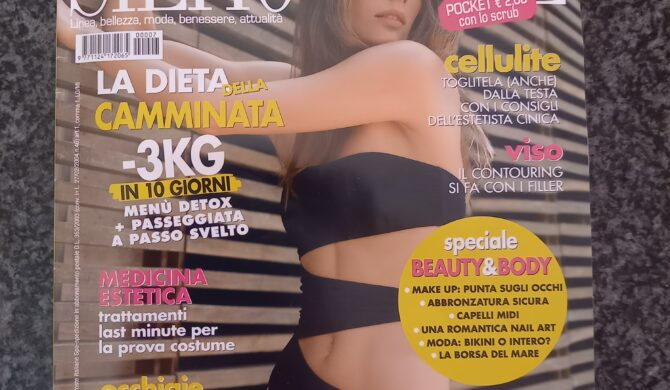 Intervista per il mensile Silhouette Donna – luglio 2020
